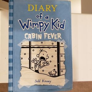 Diary of a Wimpy Kid Cabin Fever used blue book